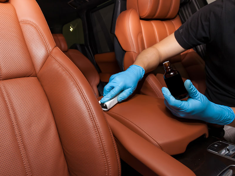 Upholstery Seat Cleaning